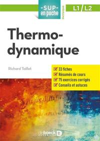 Thermodynamique, L1, L2