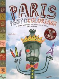 Paris photocoloriage