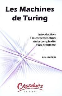 Les machines de Turing