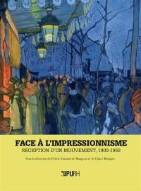Face à l'impressionnisme