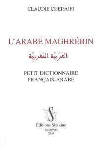 L'arabe maghrébin