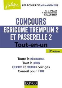 Concours Ecricome Tremplin 2 et Passerelle 2