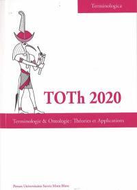 Terminologie et ontologie, théories et applications