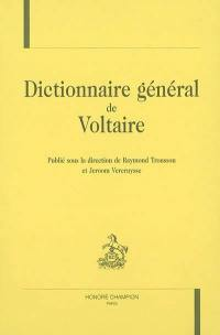 Dictionnaire général de Voltaire
