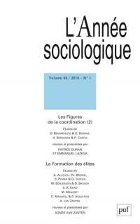 Année sociologique (L'). n° 1 (2016), La formation des élites