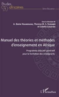 Manuel des théories et méthodes d'enseignement en Afrique