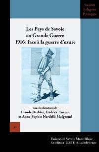 Les pays de Savoie en Grande Guerre