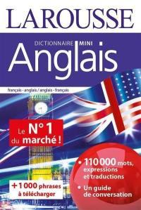Mini-dictionnaire français-anglais, anglais-français. Mini dictionary French-English, English-French