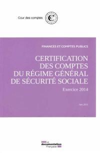 Certification des comptes de la sécurité sociale