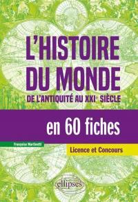 L'histoire du monde en 60 fiches