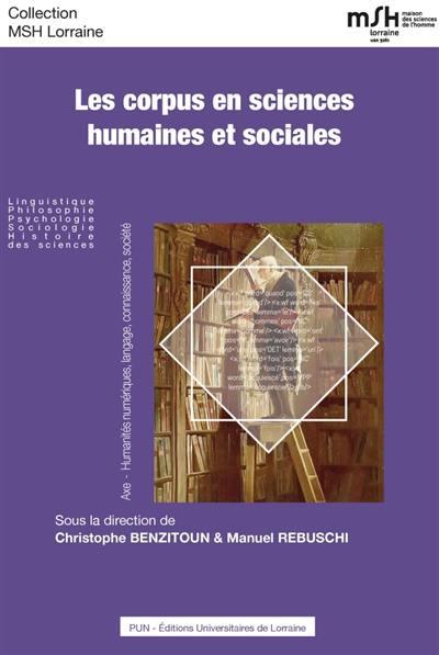 Les corpus en sciences humaines et sociales