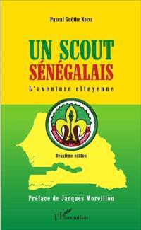Un scout sénégalais