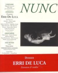 Nunc. n° 28, Erri De Luca