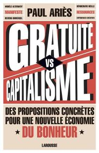 Gratuité vs capitalisme