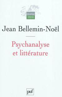 Psychanalyse et littérature
