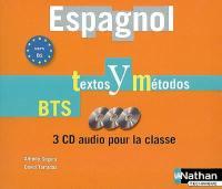Espagnol, textos y métodos, BTS, vers B2