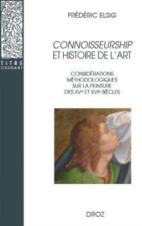 Connoisseurship et histoire de l'art