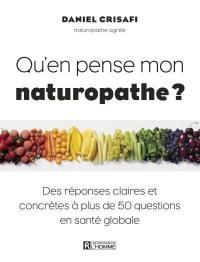 Qu'en pense mon naturopathe ?