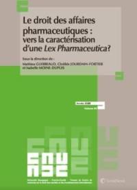 Le droit des affaires pharmaceutiques