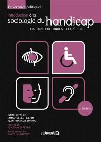 Introduction à la sociologie du handicap