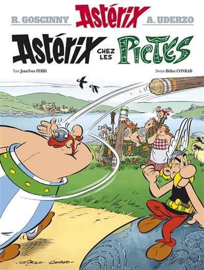 Astérix, Astérix chez les Pictes, Vol. 35