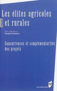 Les élites agricoles et rurales