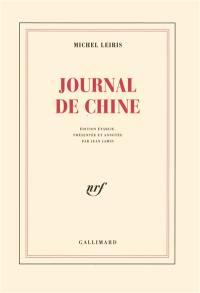 Journal de Chine