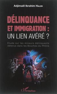 Délinquance et immigration