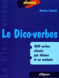 Le dico-verbes allemand