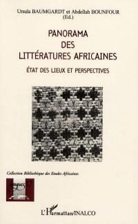 Panorama des littératures africaines
