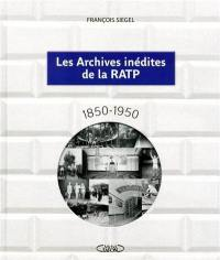 Les archives inédites de la RATP