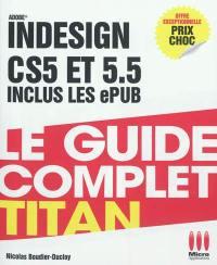 InDesign CS5 et 5.5