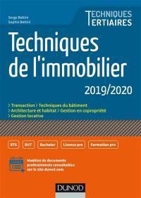 Techniques de l'immobilier 2019-2020