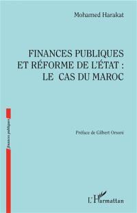 Finances publiques et réforme de l'Etat