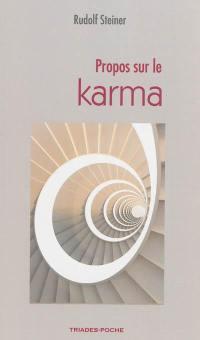 Propos sur le karma