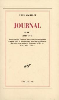 Journal. Volume 1, 1828-1848