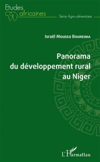 Panorama du développement rural au Niger