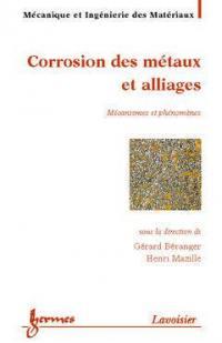 Corrosion des métaux et alliages