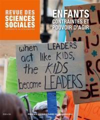 Revue des sciences sociales. n° 63, Enfants