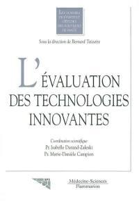 L'évaluation des technologies innovantes