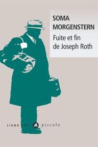 Fuite et fin de Joseph Roth