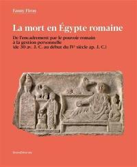 La mort en Egypte romaine