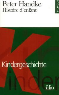 Histoire d'enfant = Kindergeschichte