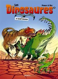 Les dinosaures en bande dessinée. Volume 2,