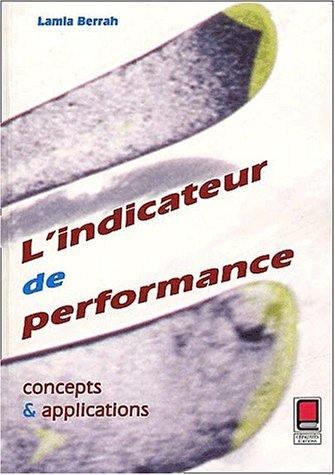 L'indicateur de performance
