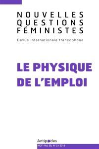 Nouvelles questions féministes. n° 2 (2019), Le physique de l'emploi