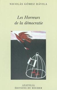 Les horreurs de la démocratie : scolies pour un texte implicite.