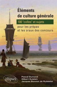 Eléments de culture générale