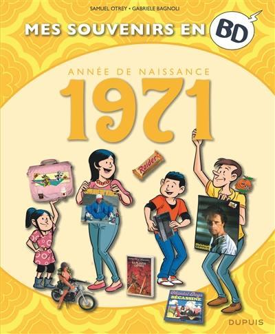 Mes souvenirs en BD. Volume 32, Année de naissance