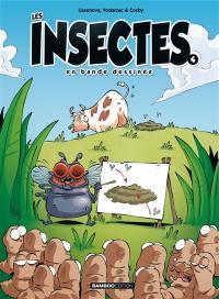 Les insectes en bande dessinée. Volume 4,